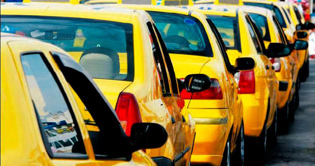 Antalyalı taksici esnafı zararına kontak açıyor