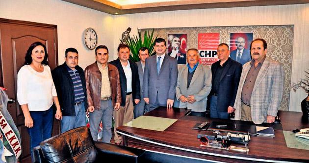 CHP Korkuteli'de yönetim istifa etti