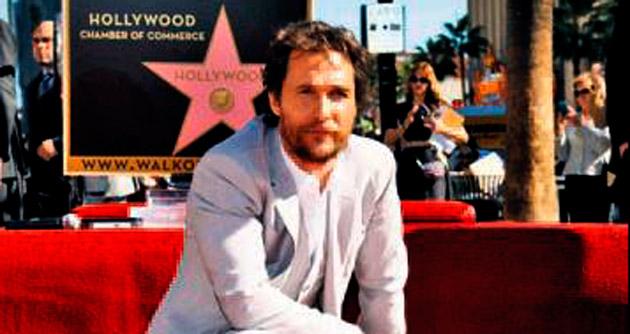 2 bin 534'üncü yıldız McConaughey oldu