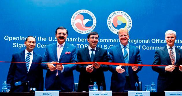 Amerikan sanayisi İstanbul'da