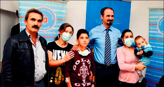 Muzaffer'in gülen yüzü organ bağışına ikna etti