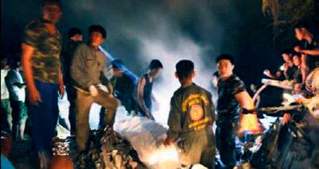 Düşen helikopterde 9 kişi yaşamını yitirdi