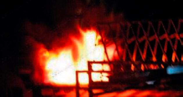 Gece kulübünde yangın: 5 ölü
