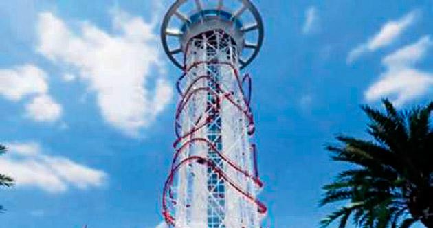 Dünyanın en yüksek tren kulesi yapılıyor