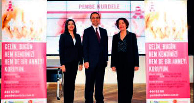 Pembe Kurdele'ye devam