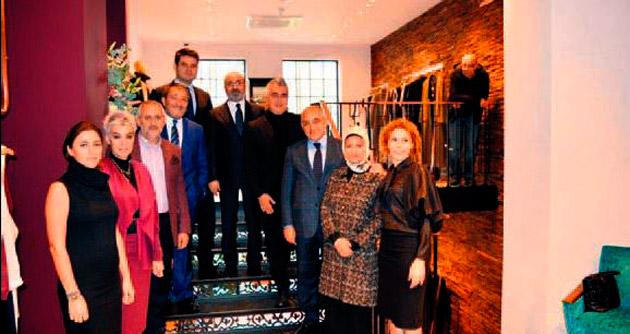 Aster Tekstil Londra'da mağaza açtı