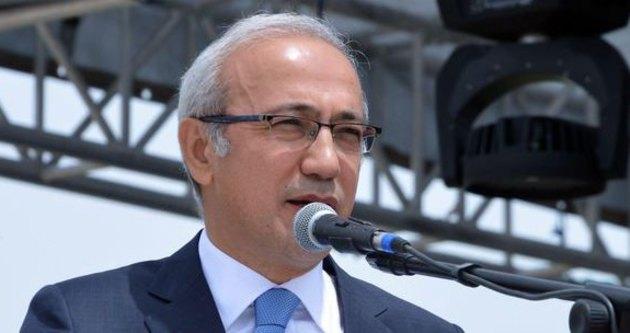 Bakan Elvan'dan havalimanı açıklaması