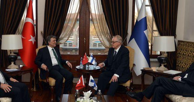 Abdullah Gül 3 ay sonra Ankara'ya gitti