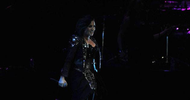 Demi Lovato'dan unutulmaz konser