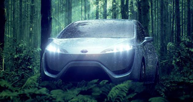 Toyota'dan 'Hidrojen'le çalışan otomobil atağı
