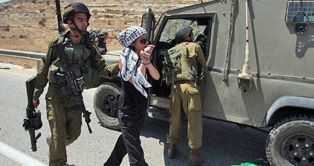 İsrail, Filistinli çocukları topluyor