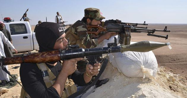 IŞİD'in gerilemesi sürüyor