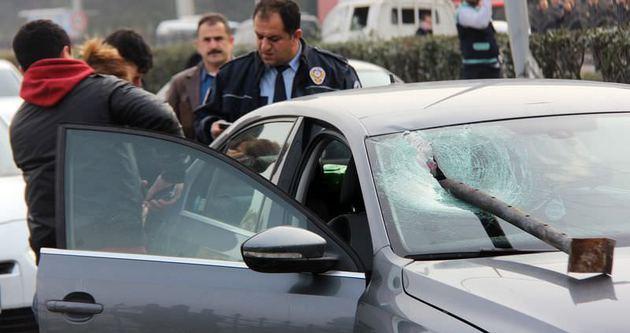 Rize'de akıl almaz kaza