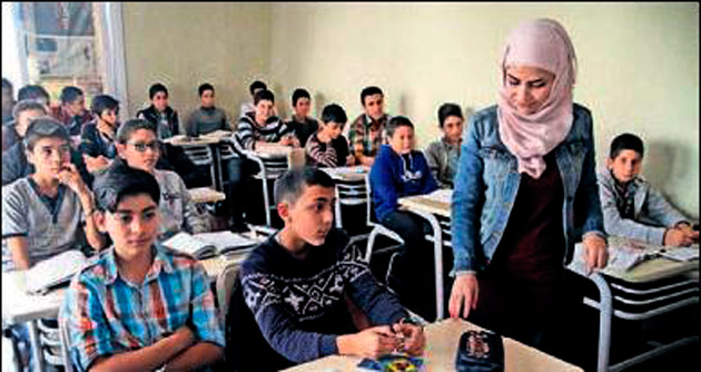 Suriyelilere özel tesis kuruldu