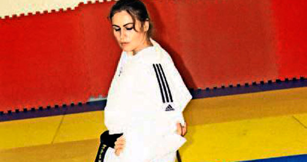 Gençler, judo sporunu sevdi