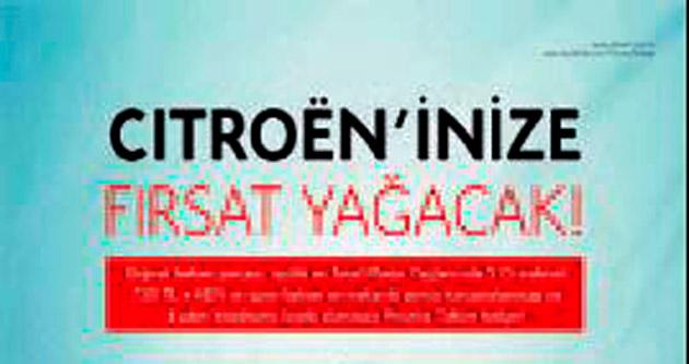 Citroen'den kış bakım kampanyası