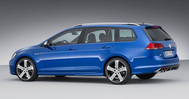 Volkswagen'in ateşli wagonu