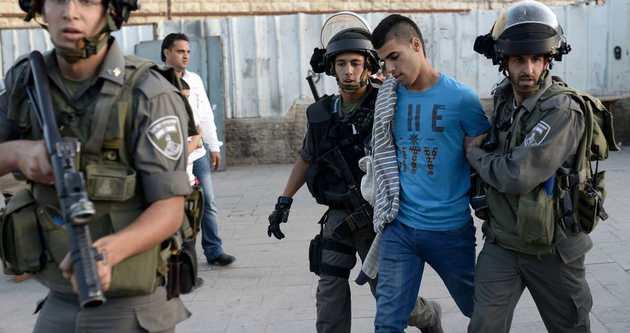 İsrail'den 20 günde 401 gözaltı