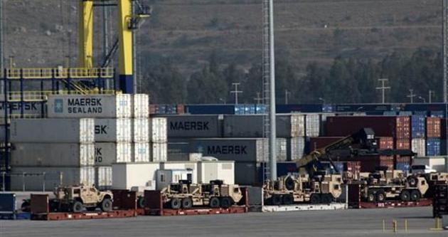 ABD'den Gaziantep'e askeri malzeme