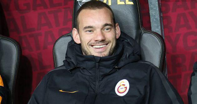 Sneijder'den flaş transfer açıklaması