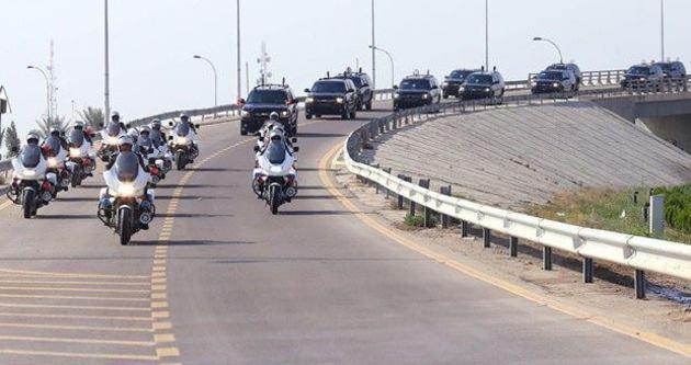 Başbakan Davutoğlu'nun konvoyunda kaza