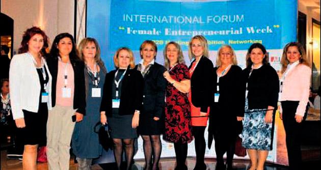 İzmirli iş kadınları Akdeniz'in yıldızı