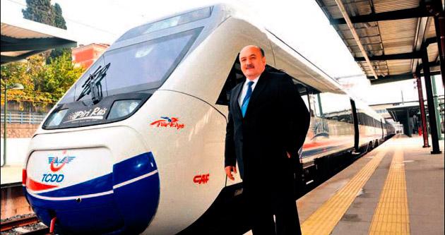 Hızlı trenle 650 bin kişi taşındı
