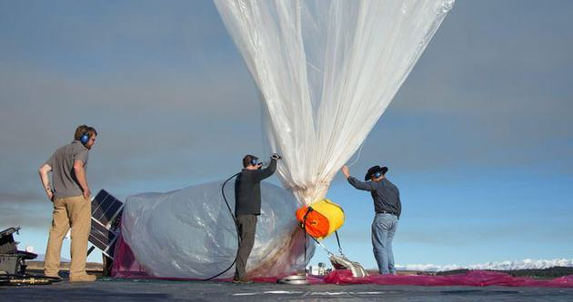 Google'ın balonları testi geçti