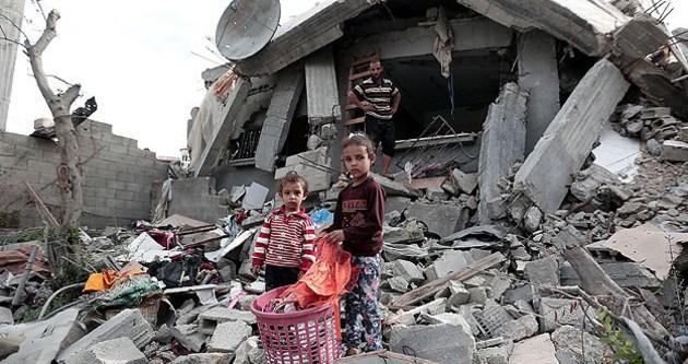 Gazze'de 28 bin ev zarar gördü
