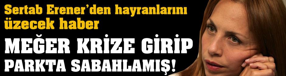 Sertab Erener, Demir Demirkan'la ayırılınca krize girip parkta sabahladı