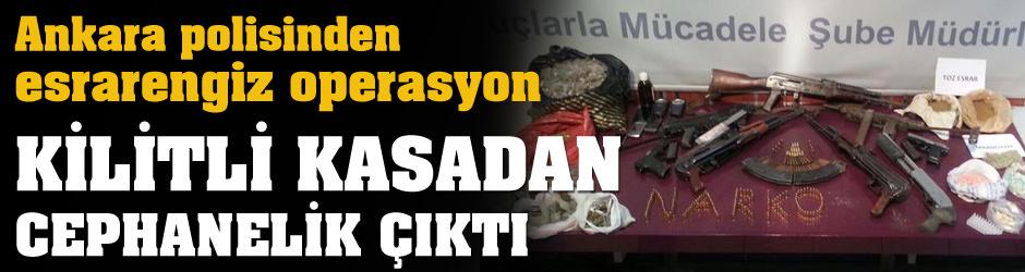 Ankara polisinden esrarengiz operasyon