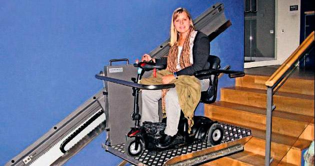 Engellilere özel asansör