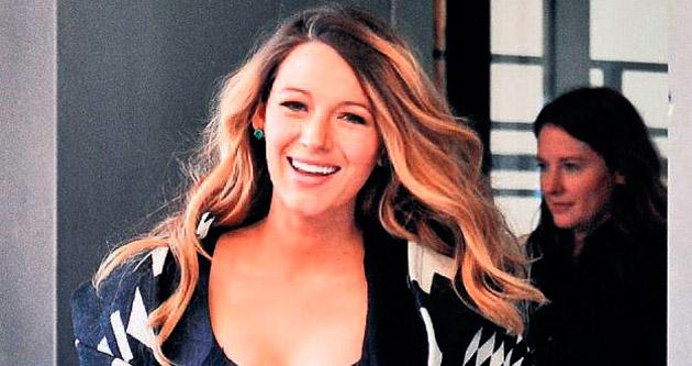 Hamile Blake sarı saçlarına veda ediyor!