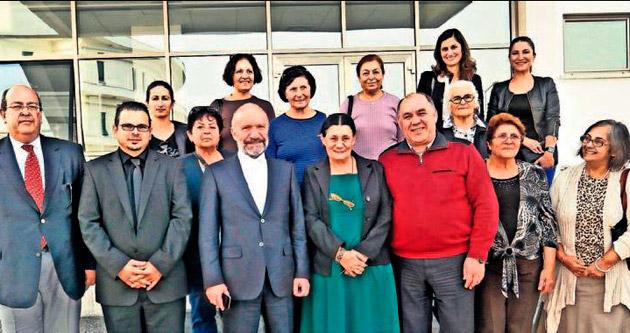 YDÜ Hayvan Hastanesi Kutlay Erk'i ağırladı
