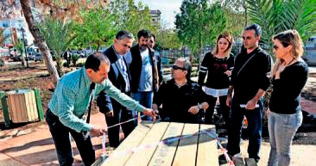 Muratpaşa'dan park ve spor tesisi
