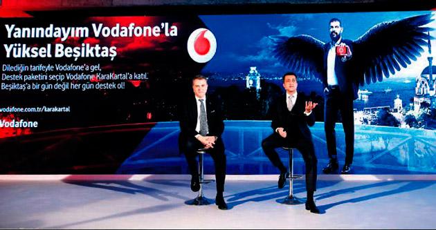 BJK ile Vodafone tarihi anlaşma yaptı