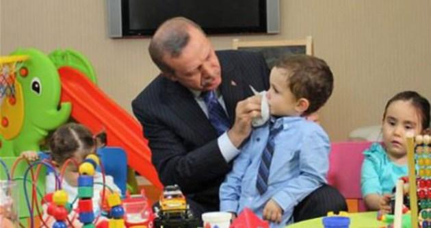 Erdoğan'dan Recep Tayyip bebeğe hediye!