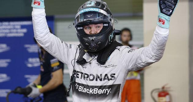 Abu Dabi'de ilk cep Rosberg'in