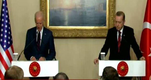 Erdoğan ile Biden'den ortak açıklama