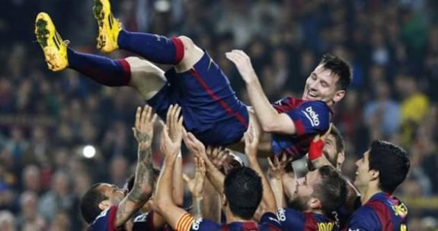 Lionel Messi tarihe geçti!