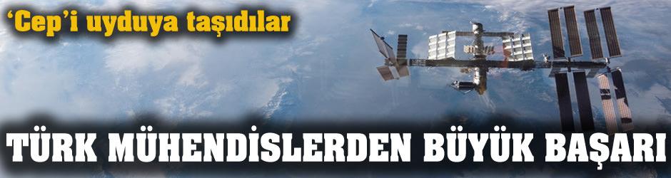 Türk mühendisler 'cep'i uyduya taşıdı