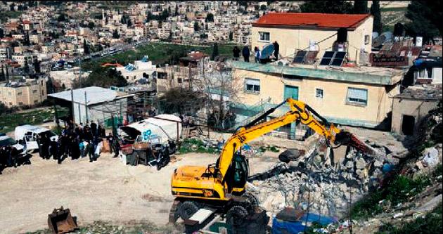 'İsrail ev yıkarak savaş suçu işliyor'