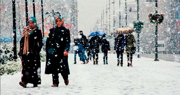 Türkiye kasımda kar altında kaldı