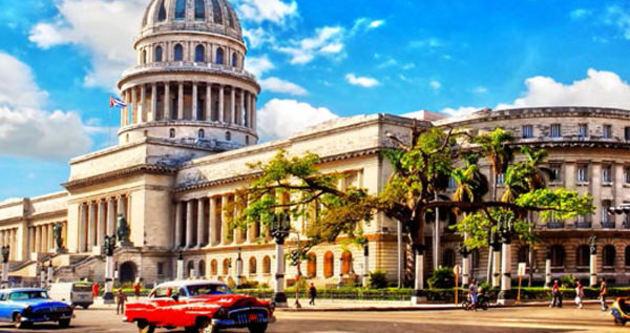 Erdoğan'ın sözlerinin ardından Küba'ya ilk tur ziyareti