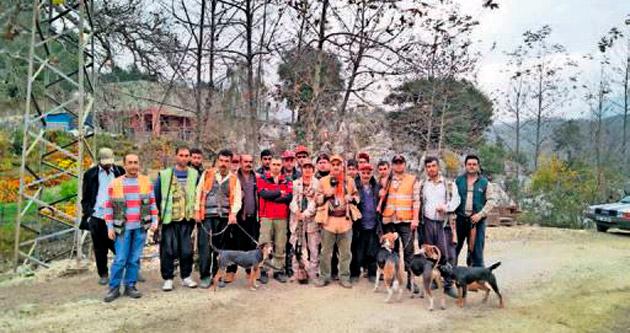 Avcılar 2 günde 19 domuz vurdu