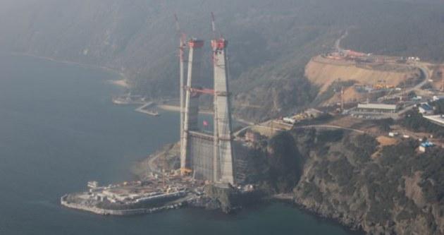 3. Boğaz Köprüsü projesinde dev adım