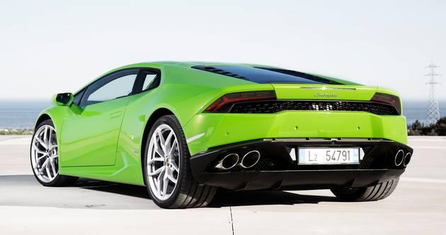 Lamborghini'ye taksi muamelesi