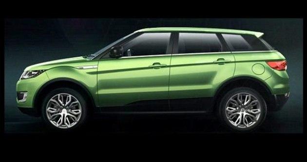 Çinli şirket Range Rover'ı birebir kopyaladı