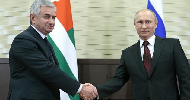 Rusya ile Abhazya ortaklık anlaşması imzaladı