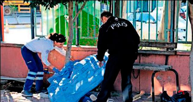 Hastane yakınında ölü bulundu